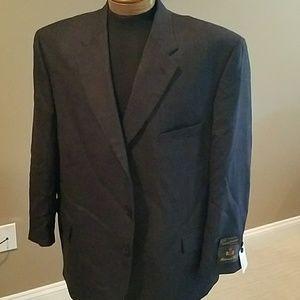 Other - Navy/blk check blazer